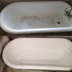 Can a bathtub be refinished more than once?