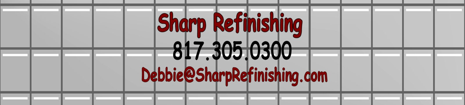 Sharp Bathtub Refinishing