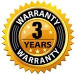 3 Year Warranty!
