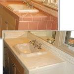 Tiled Bathroom Countertop
